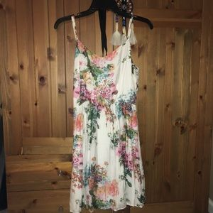 Aqua Brand Large flower sun dress